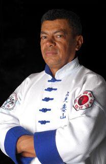 Foto do Grão Mestre Lopes - União Taisan de Kung-Fu